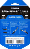6 Foot Solderless Pedalboard Cable Kit BCK-6