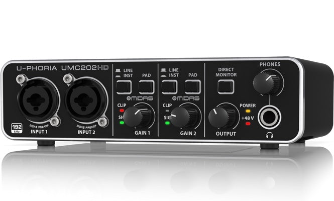 U-PHORIA UMC202HD Audio Interface