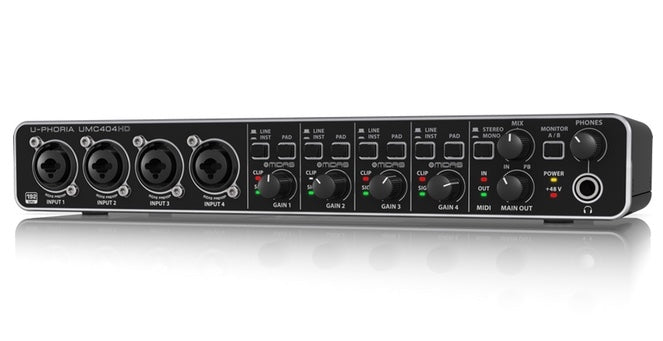 U-PHORIA UMC404HD Audio Interface