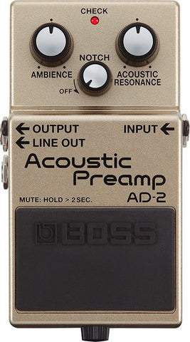 Acoustic Preamp Pedal AD-2