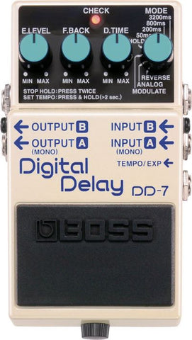 Digital Delay Pedal DD-7