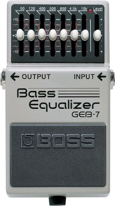 Bass Equalizer Pedal GEB-7