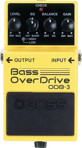 Bass OverDrive Pedal ODB-3
