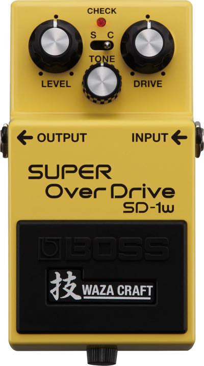 Super OverDrive Pedal SD-1W