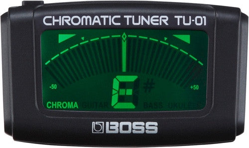 Clip-On Chromatic Tuner in Black TU-01