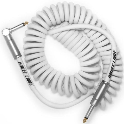 15 Foot Coil Cable in White BC-15CCW