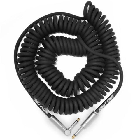 30 Foot Coil Cable in Black BC-30CCSA