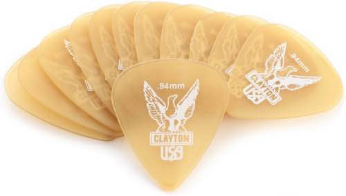 Ultem Gold Standard Picks 0.94mm Pack of 12 US94/12