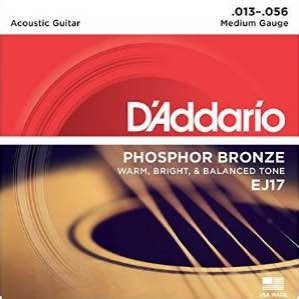 Acoustic EJ17 Phosphor Bronze Medium 13-56