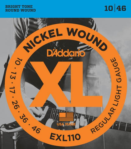 Electric EXL110 Nickel Wound Regular Light 10-46