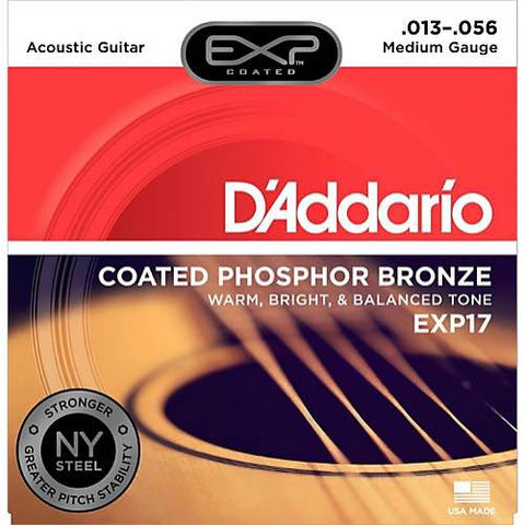 Acoustic EXP17 Coated Phosphor Bronze Medium 13-56