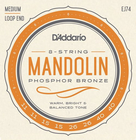 Mandolin EJ74 Phosphor Bronze Medium 11-40
