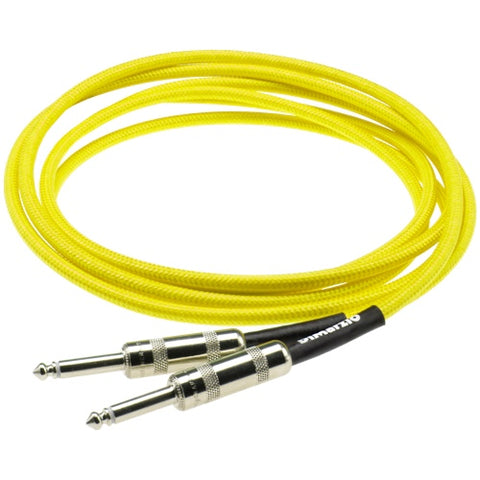 18 Foot Instrument Cable in Neon Yellow EP1718SSY