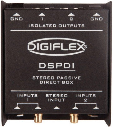 DSPDI Stereo Passive Direct Box