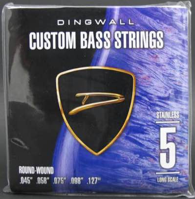 Stainless Steel Long Scale 45-127 5 String Set
