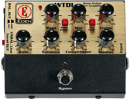 WTDI Direct Box Bass Preamp Pedal