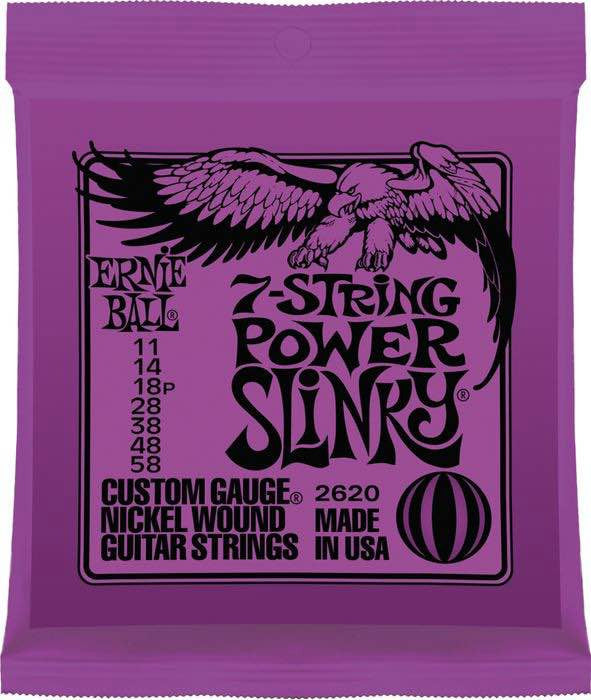 Electric Power Slinky 7-String Nickel Wound 11-58 2620