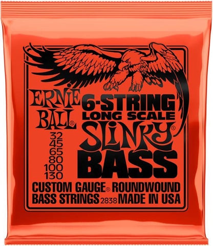 Bass Slinky Long Scale 6-String Nickel Wound 32-130 2838