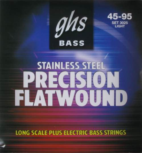 "Bass Precision Flats Light 38"" Winding 45-95 Set 3025"
