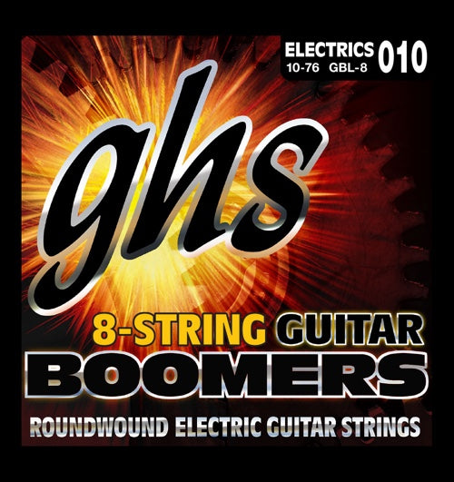Electric Boomers 8-String Light 10-76 Set GBL-8