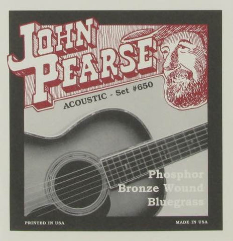 Acoustic Phosphor Bronze Wound Bluegrass 12-56 650