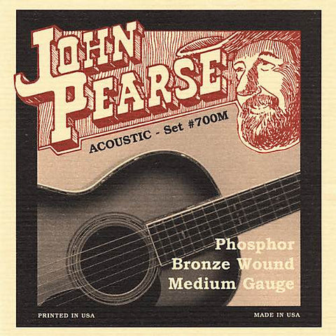 Acoustic Phosphor Bronze Wound Medium 13-56 700M