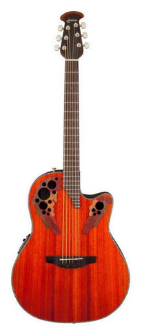 Celebrity Elite Plus Mid-Depth Cutaway Padauk CE44P-PD