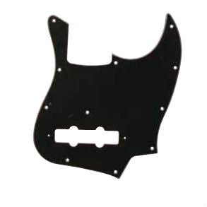 Pickguard for Bass Guitar in Black/White/Black P060