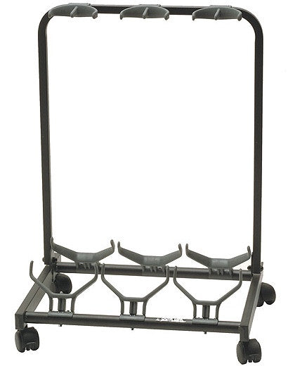 Multiple Universal Guitar Stand for Three Guitars GS-430