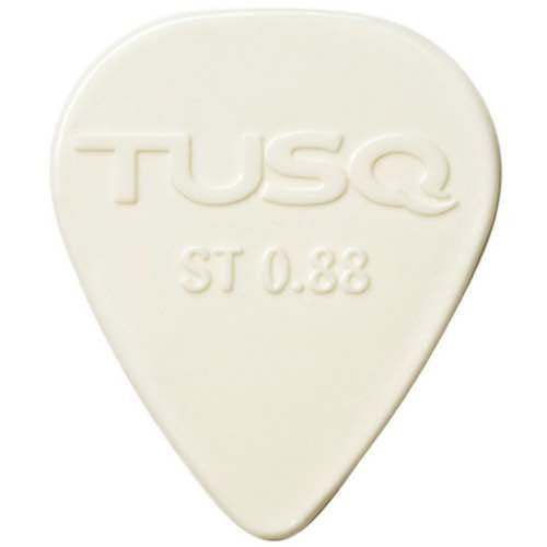 Standard Picks 0.88mm Pack of 6 in White PQP-0088-W6