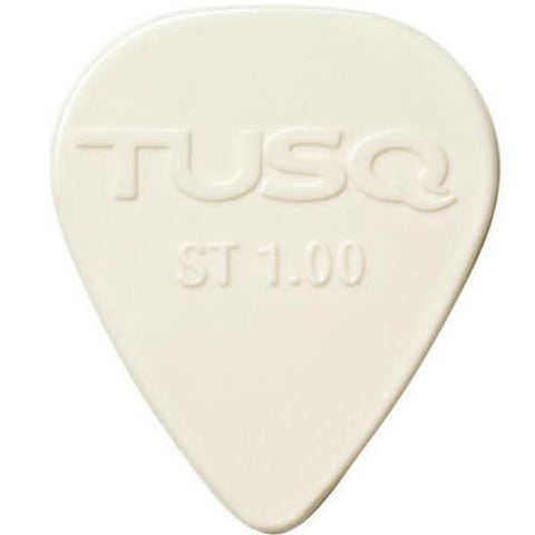 Standard Picks 1mm Pack of 6 in White PQP-0100-W6