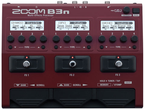 B3n Multi-Effects Processor for Bass