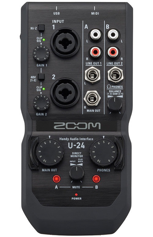 U-24 Handy Audio Interface