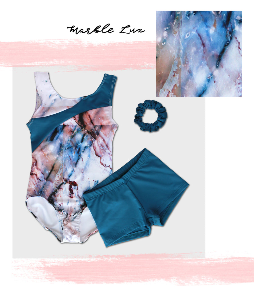 BLOG-NEW-LEOTARDS-SUMMER-STYLES---Marble Lux Tank Leotard