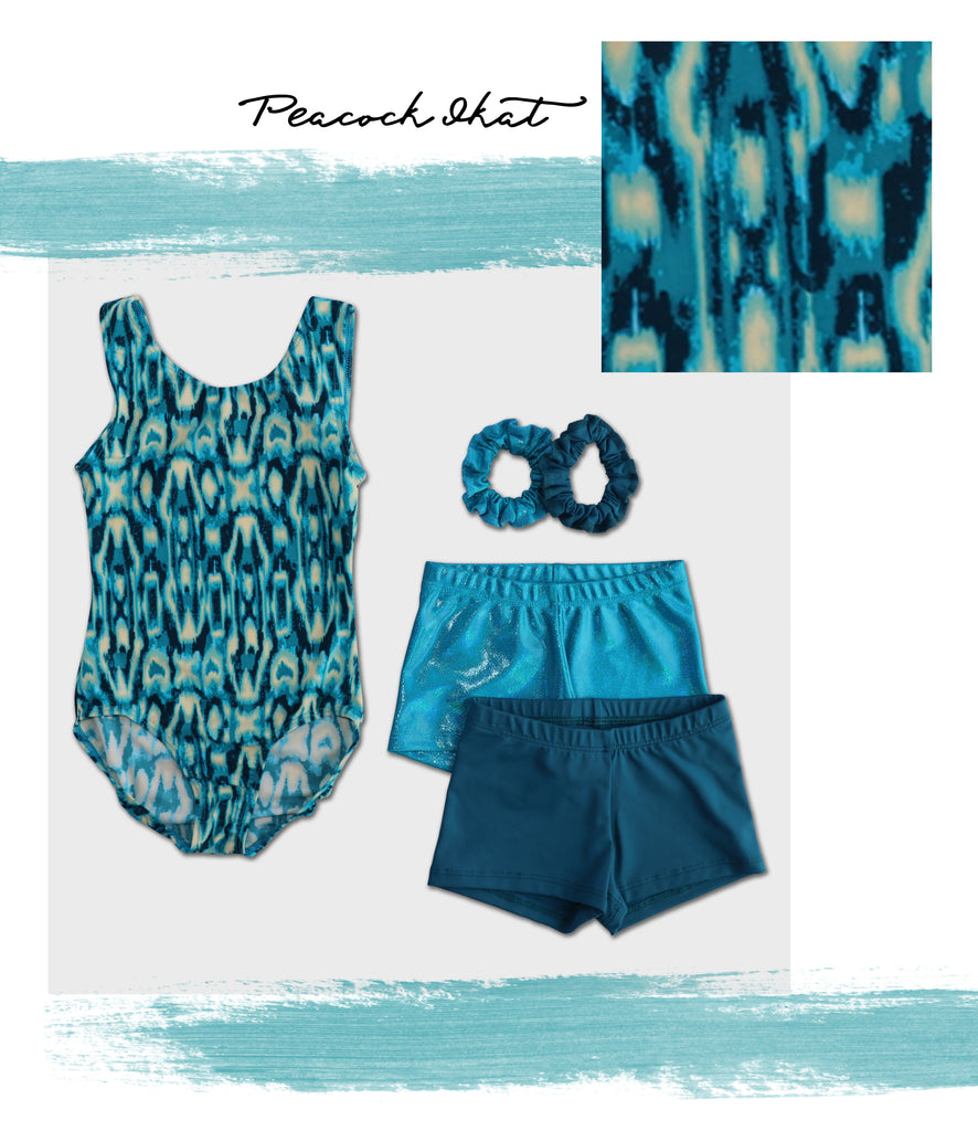 BLOG-NEW-LEOTARDS-SUMMER-STYLES---Peacock Ikat Tank Leotard