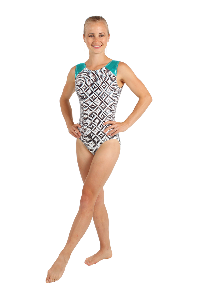 Dizzy Diamonds Tank Leotard