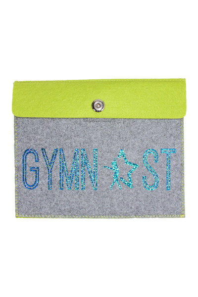 Gymnast Tablet Case - Lime