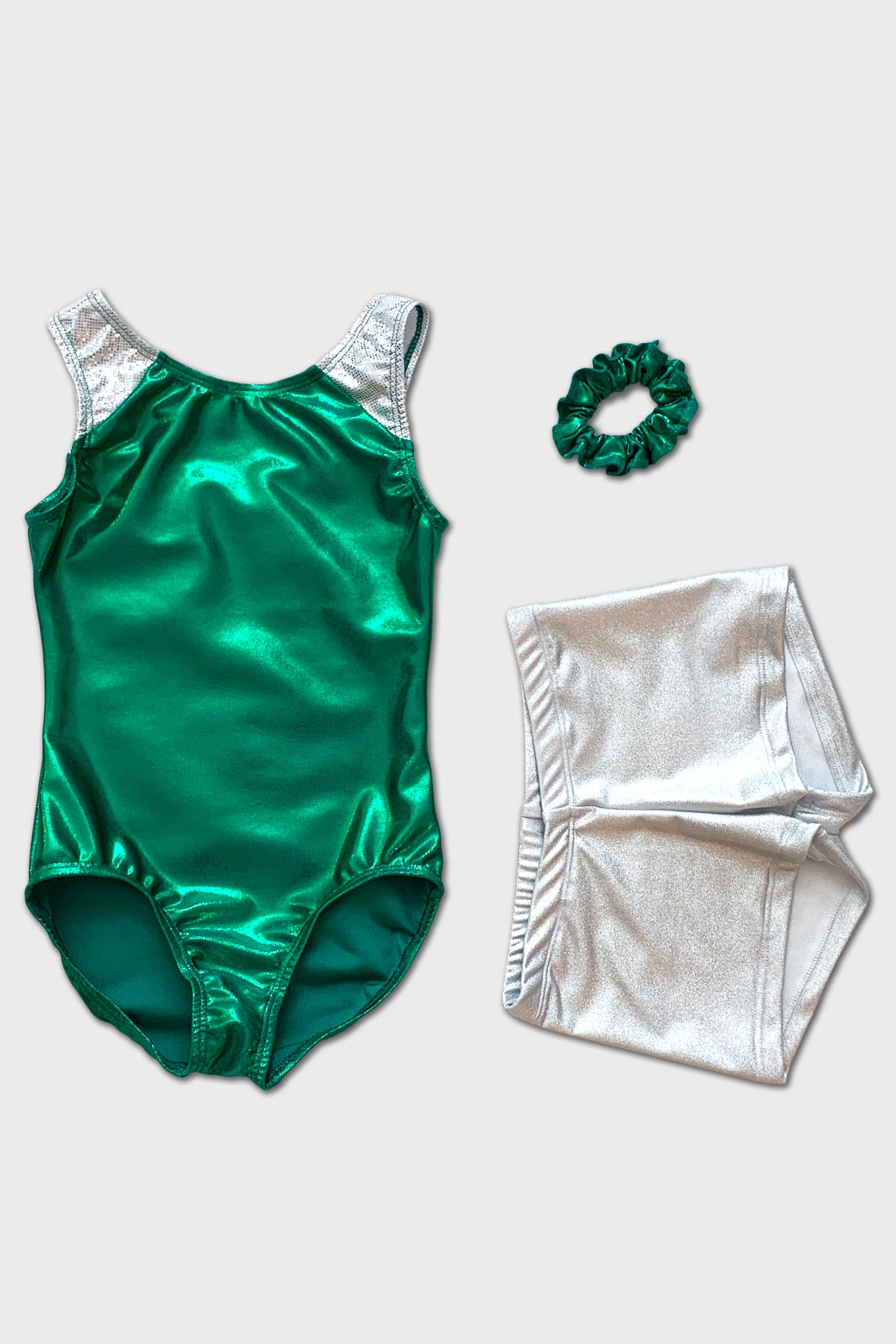 Holiday Green Tank Leotard