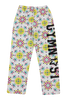 Gymnast Flannel Pants - Moroccan Floral