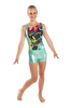Tropical Leaf Tank Leotard