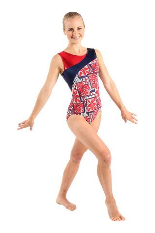 Hawaii USA Tank Leotard