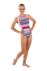Summer Stripes Tank Leotard