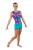 Jewels Tie Dye Tank Leotard