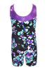 Midnight Bloom Tank Unitard