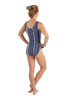Navy Tribal Tank Leotard
