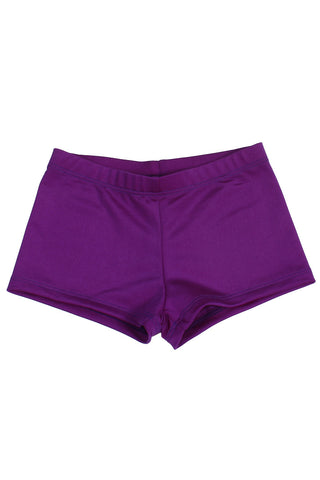 Nylon Shorts - Purple