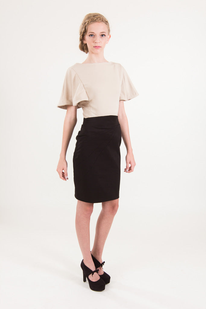Adelheid Bergin - 2013 A/W - Bavarian Twilight Micro-Collection - The Franchise Top & The Penciled-In Skirt