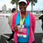 After completing the St. Pete Women's Half Marathon