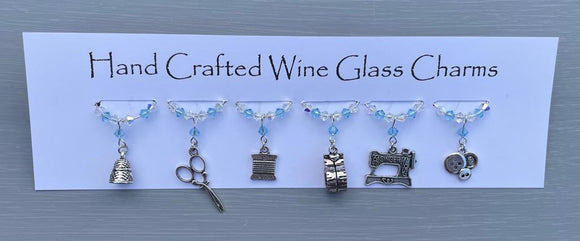 Sewing Wine Glass Charms