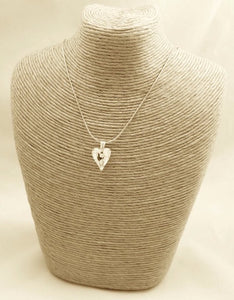 Drop Heart Necklace, Bridal Jewellery, Bridesmaids Gift, Christmas Gifts, Gifts for Her
